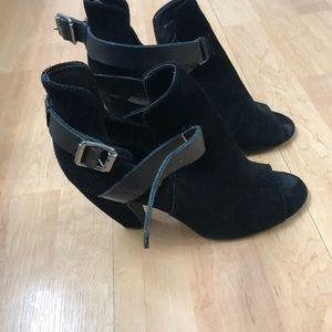 Open toed Short Booties